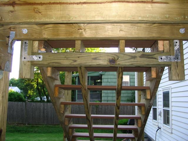 composite deck composite deck stair stringers